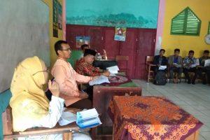 Persiapan Ujian Semester Ganjil Kepala Madrasah Langsung Gelar Rapat