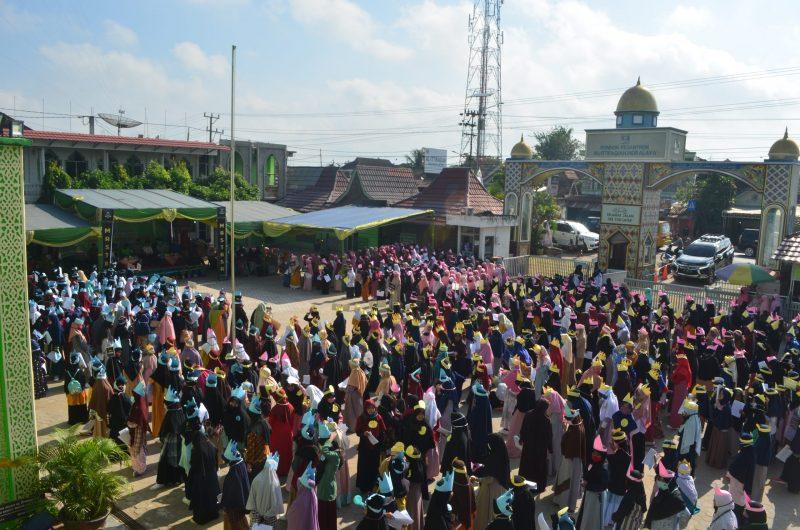 Masa Ta'aruf Santri Pondok Pesantren Al Ittifaqiah Indralaya